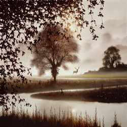 Stillness of Time by John Waterhouse - Limited Edition on Paper sized 18x18 inches. Available from Whitewall Galleries